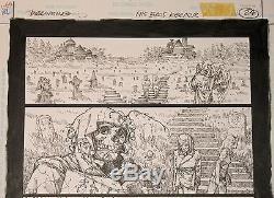 Original Art Sandman Dreaming #8 Last Page Only Michael Zulli Issue Neil Gaiman