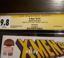 Original Art Stanley Artgerm Lau+signed Psylocke Sketch X-men 92 #1 Cgc 9.8