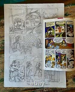 Original Art by Bernie Wrightson For Simpsons Treehouse of Horrors #11 VG Rare