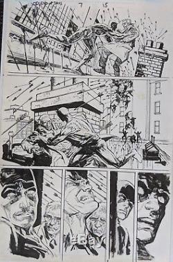 Original Artwork, Janson, Sienkiewicz Daredevil End of Days #7 page 15