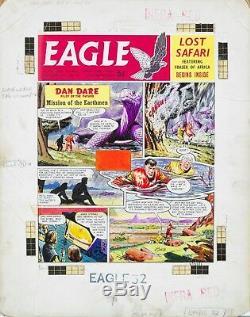 Original Artwork by Don Harley & Bruce Cornwall, Eagle1960,11/32. Dan Dare