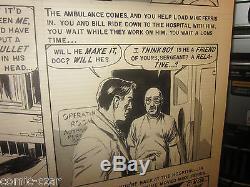 Original COMIC ART by George Evans- EC Comics SHOCK SUSPENSTORIES PAGE #3