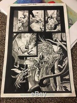 Original Comic Art Hellblazer #259 p. 18 By Simon Bisley