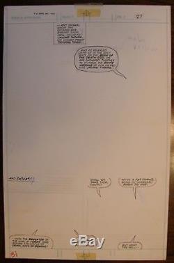 Original Comic Art, Savage Sword Of Conan # 59, Mike Vosburg, Gga, Bondage