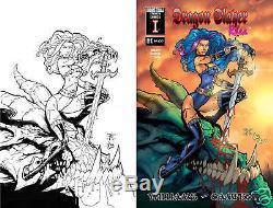 Original Dragon slayer Rhea #1. Randy Green Cover