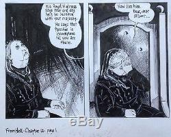 Original From Hell art / Alan Moore & Eddie Campbell / Framed, signed, gorgeous