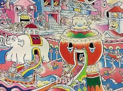 Original Kim Deitch Waldo painted artwork 19 x 25 1/2 Boulevards Beautiful