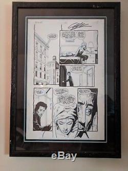 Original Preacher Comic Art Issue 6 Page 3 Steve Dillon Garth Ennis Tulip AMC