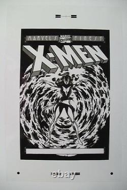 Original Production Art Marvel Finest X-MEN DARK PHOENIX cover, JOHN BYRNE art