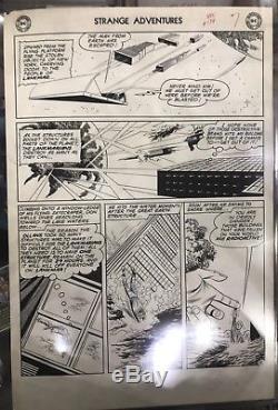 Original Strange Adventures #134 Pg 7 Carmine Infantino Comic Art Page! 1961