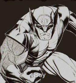 Original art Wolverine by Arthur Adams Rare collectible sketch for collectors