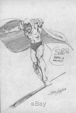 Original artwork Neal Adams Sketch circa 1969 (The Spectre)
