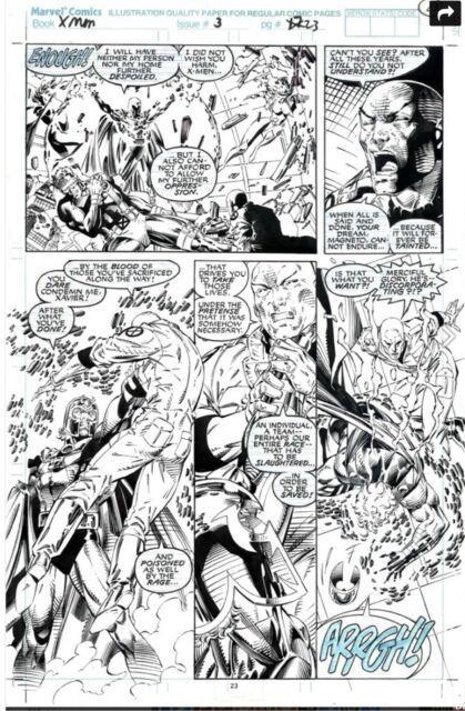 Original Comic Art Jim Lee