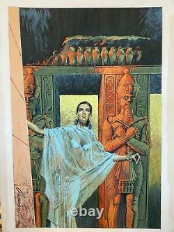 Originalzeichnung Carlos Prunes signiert sehr schöne Original Zeichnung
