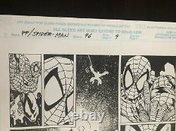 PP SPIDERMAN #96 ORIGINAL Scott Hanna COMIC ART PAGE 9-1990s