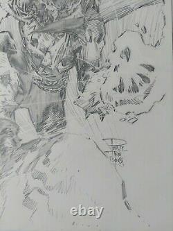 Philip Tan Spawn Original Commission Sketch 11x17