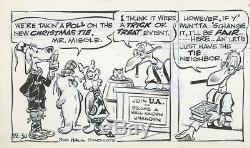 Pogo by Walt Kelly Original Daily Comic Strip 12/30/66