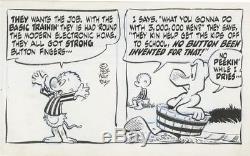 Pogo by Walt Kelly Original Daily Comic Strip 5/23/1964