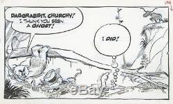 Pogo by Walt Kelly Original Daily Comic Strip 7/25/1968