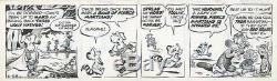 Pogo by Walt Kelly Two Original Daily Comic Strips June 1966