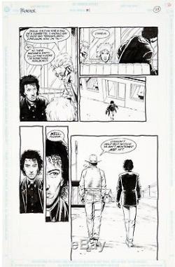 Preacher #1 ORIGINAL art Steve Dillon FIRST ISSUE John Wayne Jesse Custer Ennis