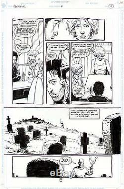 Preacher #1 Original Art Page Steve Dillon Jesse Custer Tulip Cassidy 1st Sok