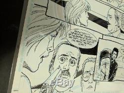 Preacher Original Line Art #37 p12 Jesse Tulip Cassidy Steve Dillon Garth Ennis