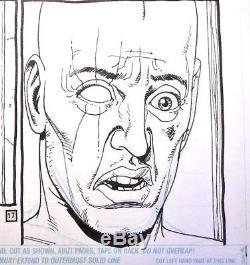 Preacher comic Steve Dillon Garth Ennis Starr crossed original page art AMC