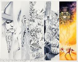Project Superpowers 2 #10 Doug Kalauba & Alex Ross Original Comic Art Samson