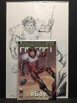 Prophet #21 Original Comic Book Cover Art by Deadpool Creator Rob Liefeld