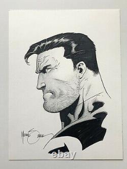 Punisher Original Art Sketch by Mike Zeck