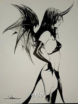Purgatori Original Art Jae Lee