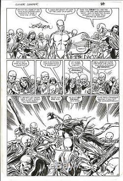 RARE! JOHN BYRNE SILVER SURFER ONE-SHOT Original Comic Art 1982