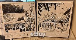 Rare! Mouse Guard Winter 1152 Original Comic Art Page 21 David Petersen Artwork
