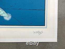 Rare Starwatcher IV Limited Ed Signed & Numbered Silkscreen Print Moebius Giraud