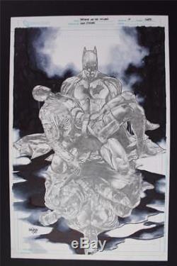 Red Hood & The Outlaws #17 COVER (Original Art) 2013 MICO SUAYAN Batman Robin