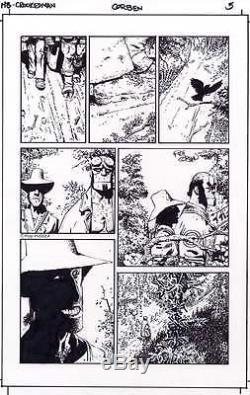 Richard Corben Original Art Hellboy The Crooked Man #1 Page 5