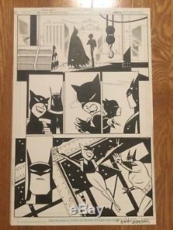 Rick Burchette Original Art Batman Adventures Issue 10, Page 4