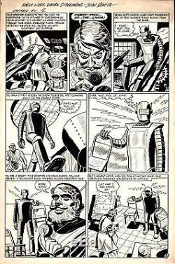 Romita Sr, John Menace 11 Pg 2 Golden Age Original Art (1954)