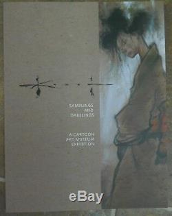 SAM KIETH SAMPLINGS & DABBLINGS BOOK withOriginal Art JOKER SKETCH Inside by KIETH