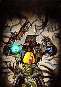 SIMON BISLEY Tower chronicles HORROR BABE COVER Painting comic art