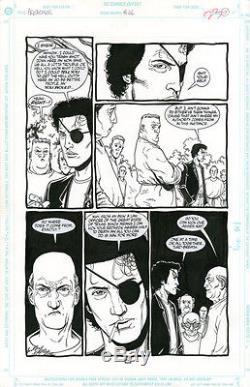 STEVE DILLON Preacher #46 p17 ORIGINAL COMIC ART Garth Ennis