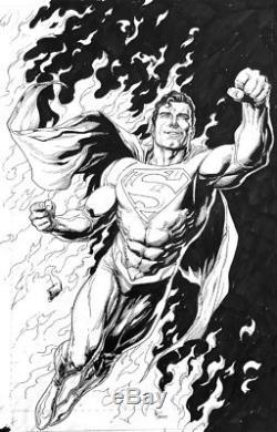 SUPERMAN Action Comics 976 Original art- Gary Frank