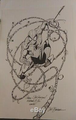 Sal Buscema Spider Man Original Artwork Signed