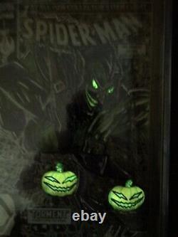Sale! Ss Cgc 9.8 Spider-man #1 Original Art Ddpii Glowing Goblin Sketch