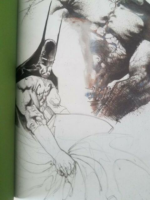 Sam Kieth Original Batman Illustration In Batman Secrets Gallery Edition #10/10