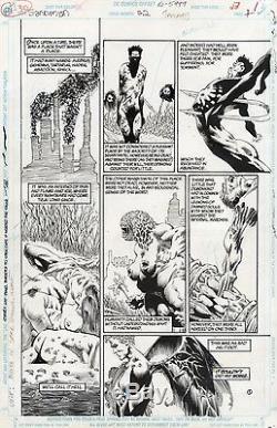 Sandman 22 Pg1 Season Of Mists Original Comic Art Kelley Jones