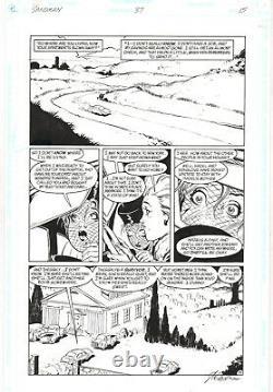 Sandman #37 p. 15 Barbie & Dora Neil Gaiman 1992 art by Shawn McManus