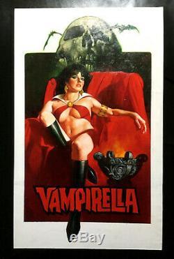 Sanjulian Vampirella Painting