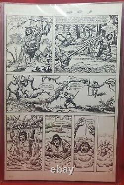 Savage Sword Of Conan #113 Pg. 22 Original Art